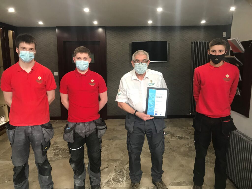 Specialist Joinery Group shortlisted for SME Employer Award 2021