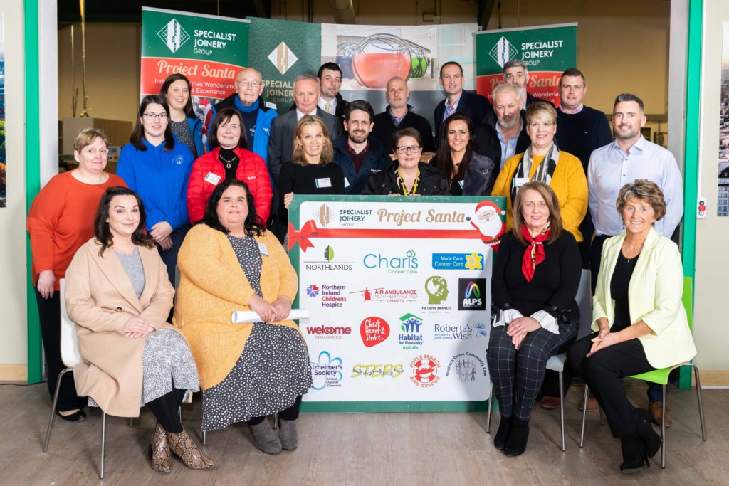 Specialist Joinery Group Delight Charities with £73,500 Funding Windfall