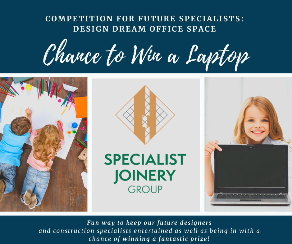Competition for Future Specialists: Design your Dream Office Space – with a chance to win a brand New Laptop!