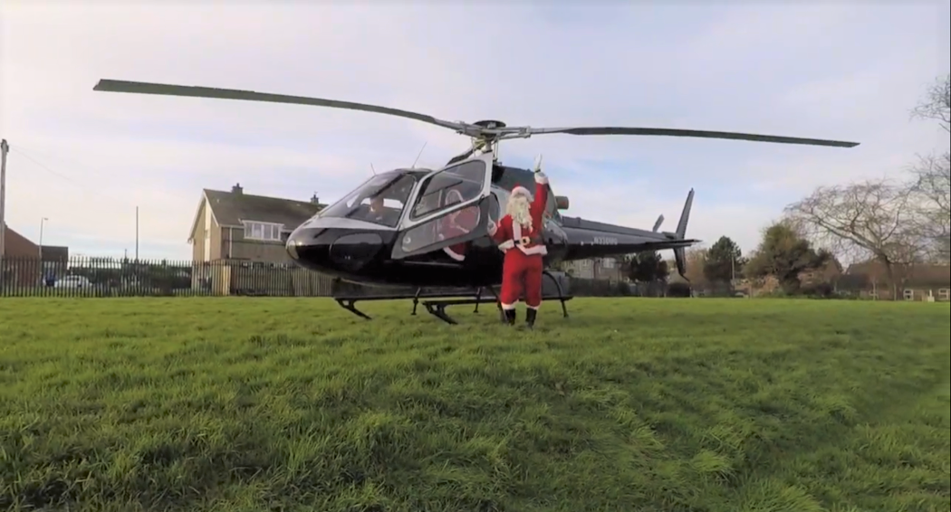 Specialist Joinery Group provide a Santa Fly-By