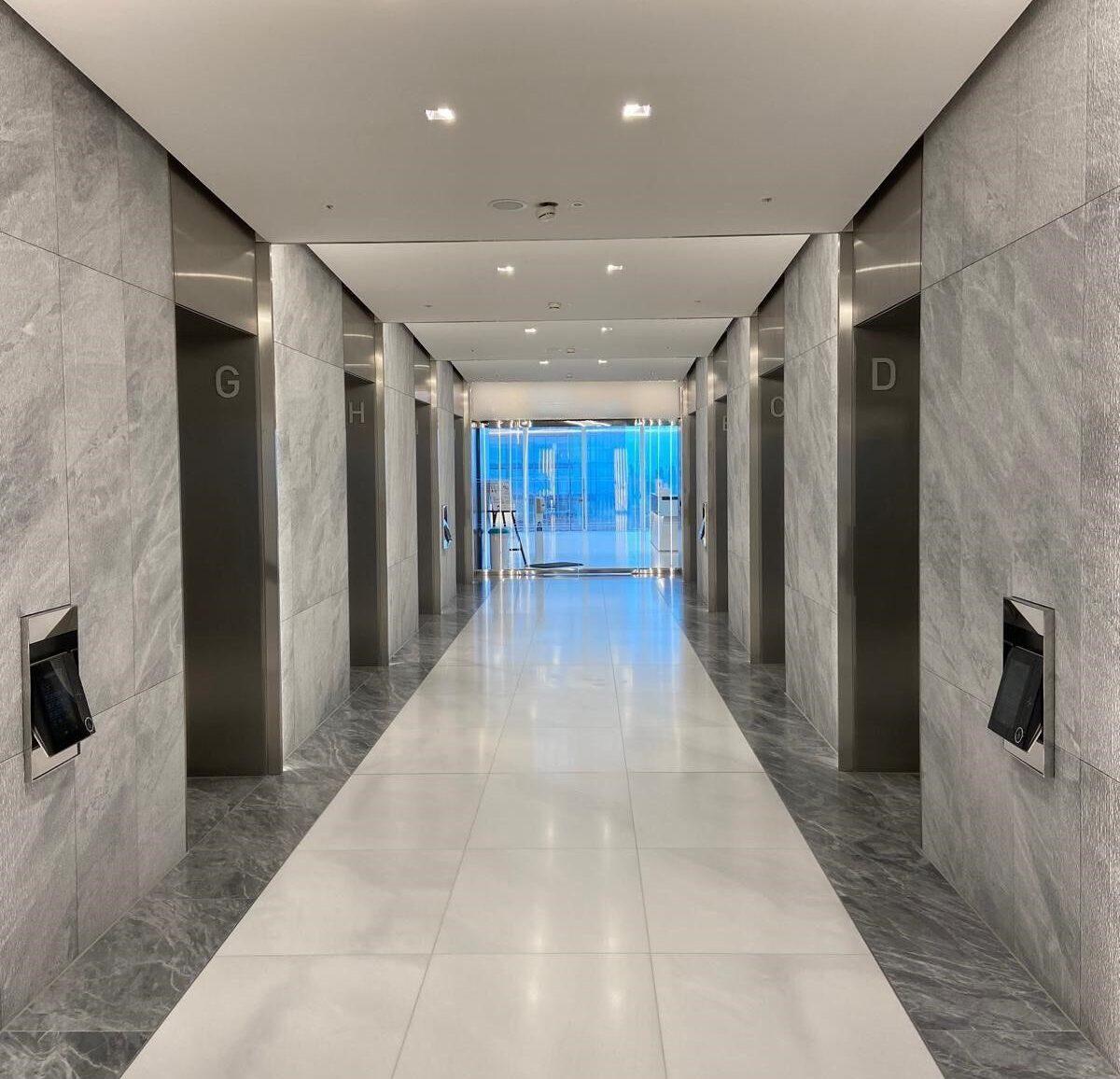 Lift Lobby Reveals
