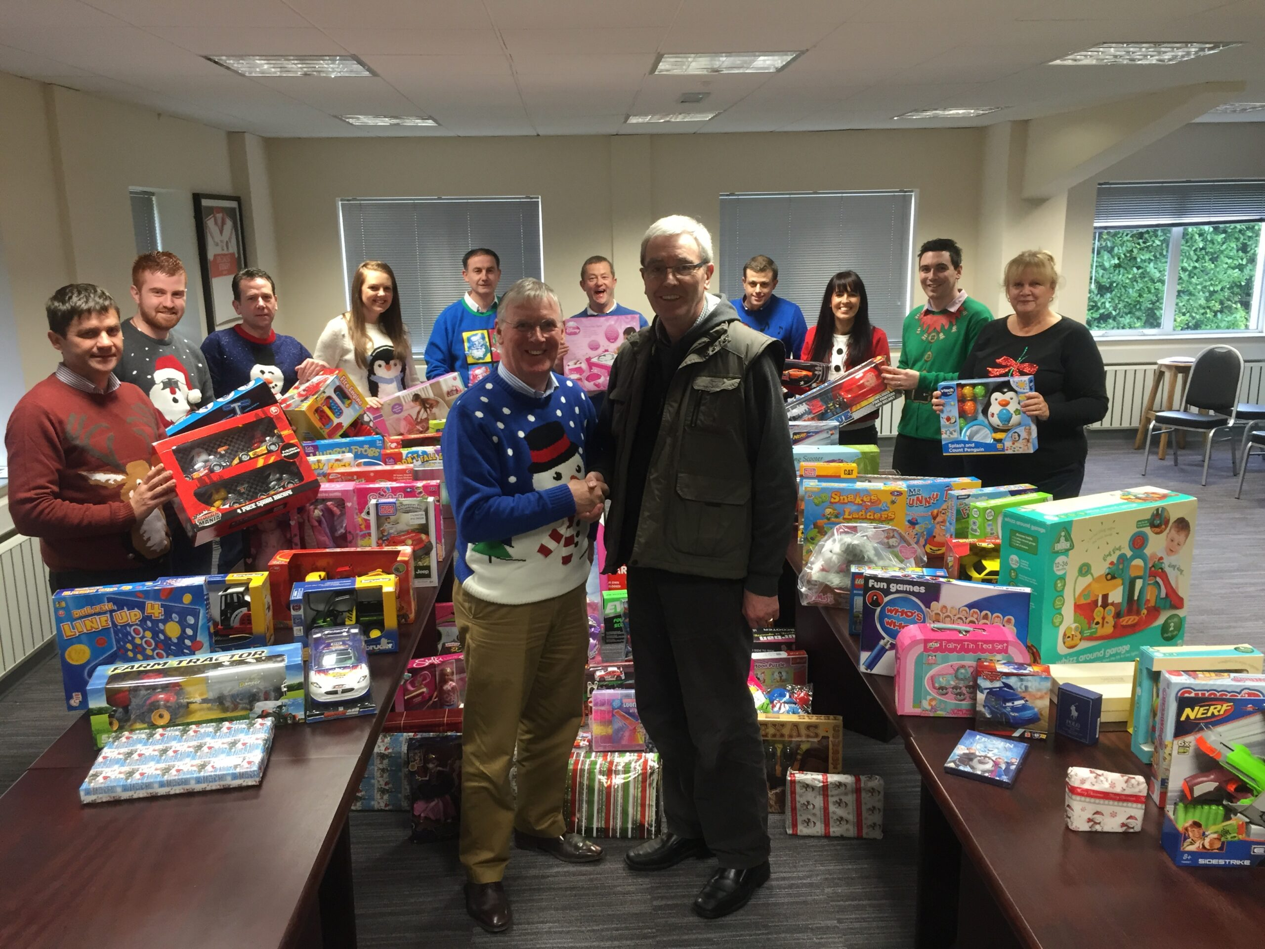 Donations for Toy Appeal