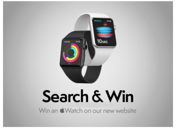 Search and Win to celebrate launch of NEW Website