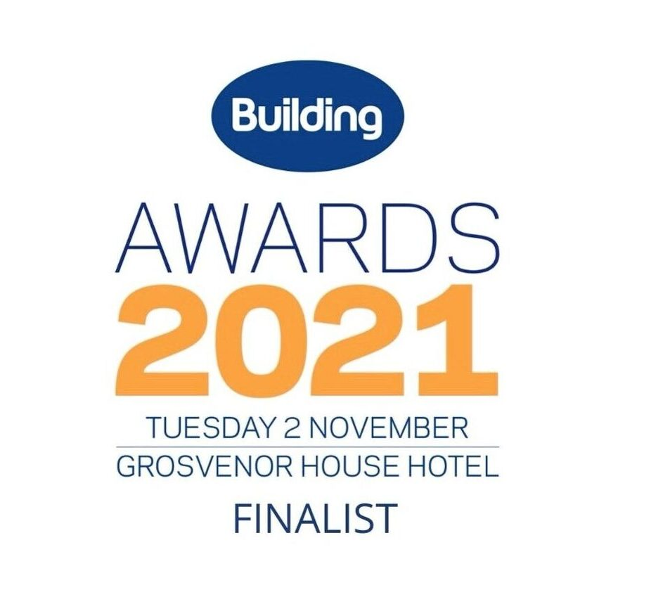 Finalist at the Building Awards 2021